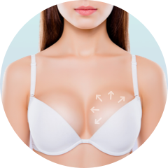 breast implant fullness